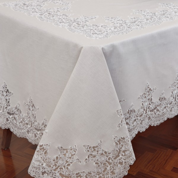Tovaglia da tavolo Rebrodè in puro lino - CAPPELLINI STORE