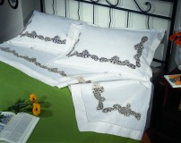 Cantù Bedsheet in Pure Linen