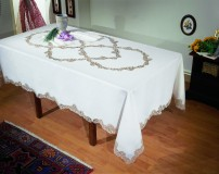 Cantù Tablecloth in Pure linen