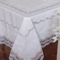 Tovaglia da tavola ricamata Refilet in puro lino