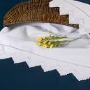 Asciugamani bagno Sfilato in puro lino