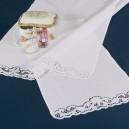 Asciugamani bagno Intaglio in puro lino