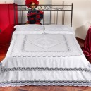 Lenzuolo matrimoniale Refilet in puro lino