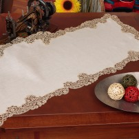 Cantù Doily in Pure Linen