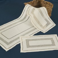 Norwegian Lace Doilies in Pure Linen
