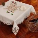 Tovaglietta da thè Burano in puro lino