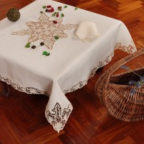 Tovaglietta da tè Burano in puro lino