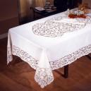 Tovaglia da tavola Intaglio in puro lino