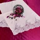 Asciugamani bagno Rebrodè in puro lino