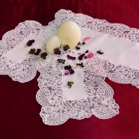 Rebrodè Doilies in Pure Linen