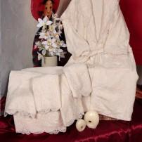 Asciugamani completo bagno 6 pz in spugna di cotone