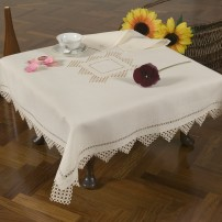 Needle Stitch Tea Set in Pure Linen