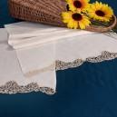 Asciugamani bagno Cantù in puro lino