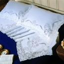 Lenzuolo matrimoniale Sfilato in puro lino