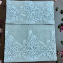 Needle Stitch Towel Set in Pure Linen
