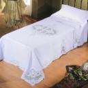 Copriletto e Lenzuolo singolo Sfilato Siciliano