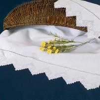 Sicilian Stitch Towel Set in Pure Linen