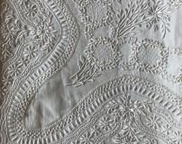 Sicilian Stitch Bedsheet in Pure Linen