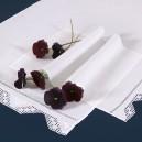 Asciugamani bagno Punto Ago in puro lino